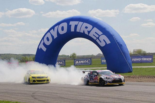 Toyo Tires анонсирует третий этап Российской Дрифт Серии
