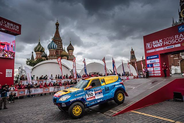 Opel Dakar Team выбрала шины Toyo для ралли «Шелковый путь 2016»