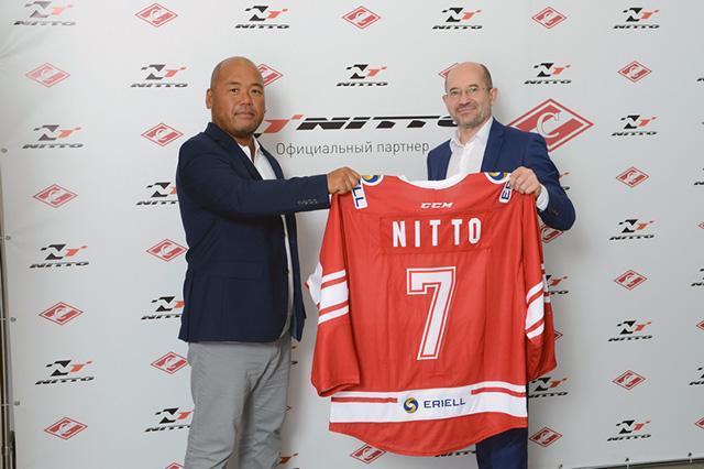Nitto Tire стала спонсором московского ХК «Спартак»