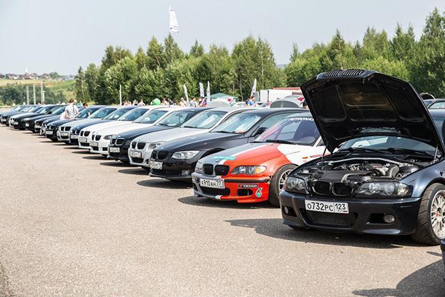 Toyo Tires на Фестивале BMW в Подмосковье