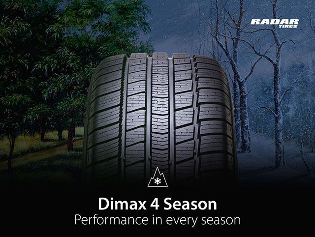 Omni United объявила о запуске новой всепогодной модели Radar Dimax 4 Season