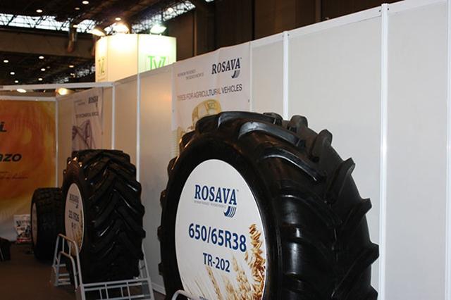 «Росава» увеличила объемы продаж сельскохозяйственных и грузовых шин