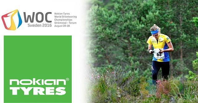 Nokian Tyres - титульный спонсор Чемпионата мира по спортивному ориентированию