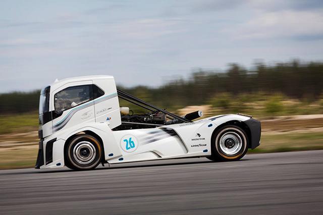 Goodyear Truck Tires - самые быстрые грузовые шины в мире