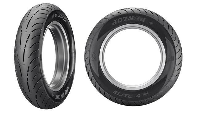 Dunlop представила новые мотошины Elite 4 в Европе