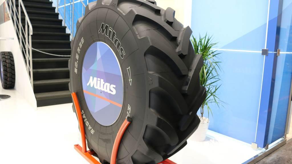 Mitas разработала шины для сельскохозяйственных погрузчиков