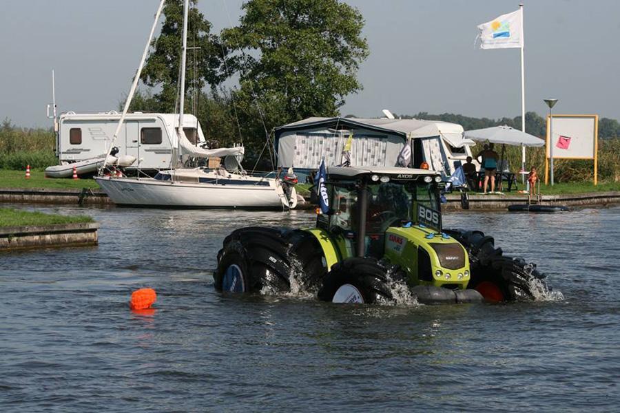 Шины Mitas SFT превратили 4-тонный трактор в яхту