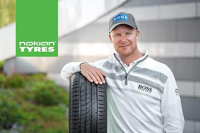 Микко Илонен - посол бренда Nokian Tyres в Скандинавии