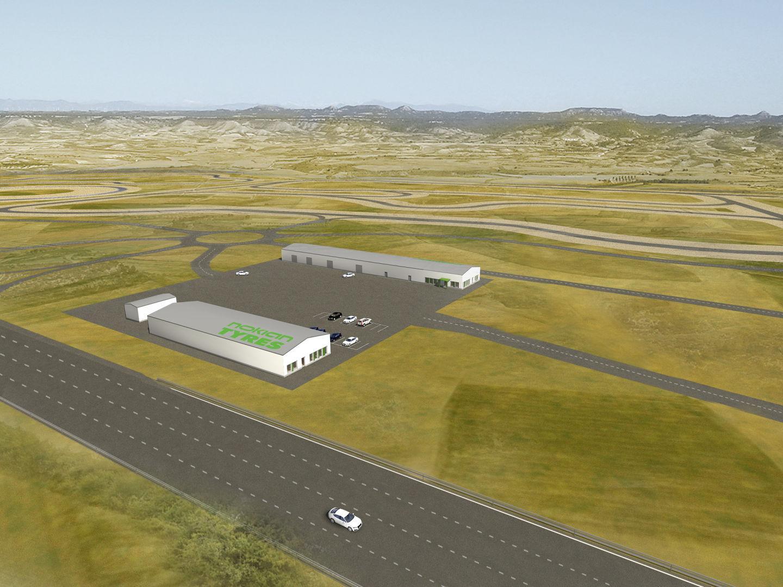 Nokian Tyres выбрала площадку для строительства тестового полигона в Испании