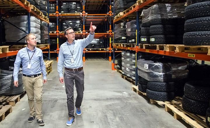 Nokian Tyres внедрила автоматизированную систему управления складом на заводе во Всеволжске