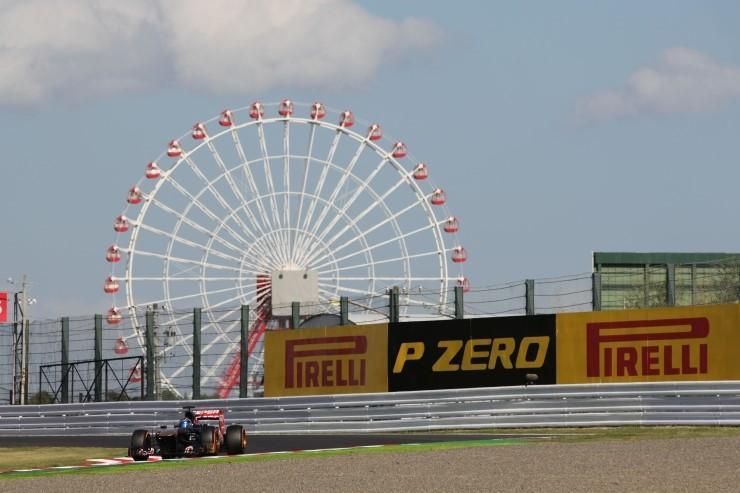 Команды Формулы-1 сделали выбор шин на Гран-при Японии