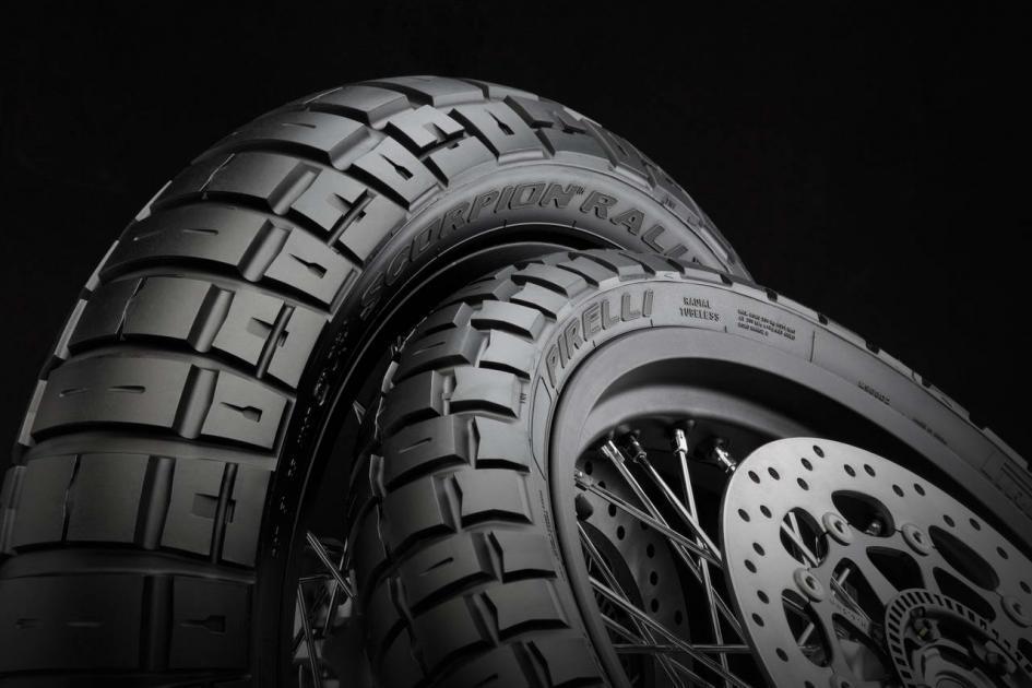 На выставке Intermot 2016 дебютировали мотошины Pirelli Scorpion Rally STR