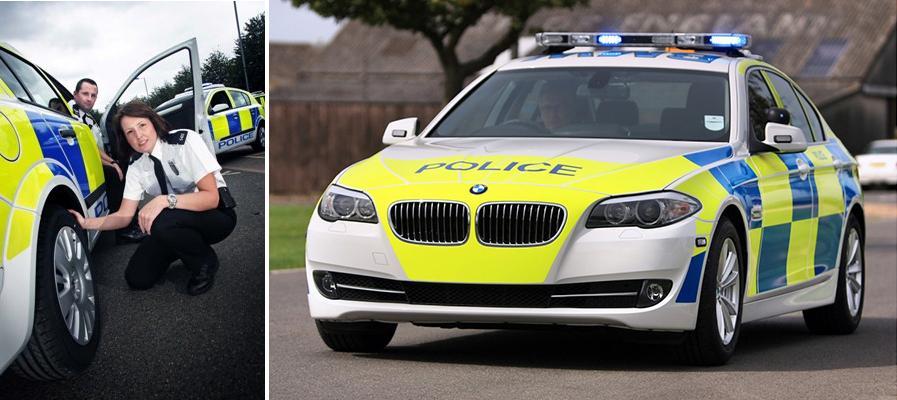 Британская полиция снова выбрала шины Goodyear и Dunlop