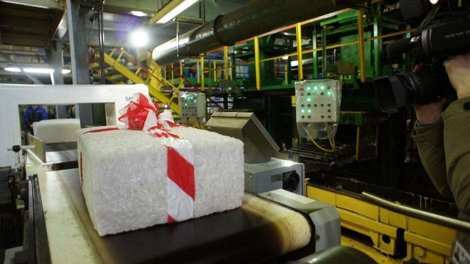 «Нижнекамскнефтехим» выпустил 10-миллионную тонну каучука СКИ-3 для шинной промышленности