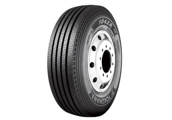 Размерный диапазон грузовых шин Yokohama 104ZR увеличился на 4 типоразмера