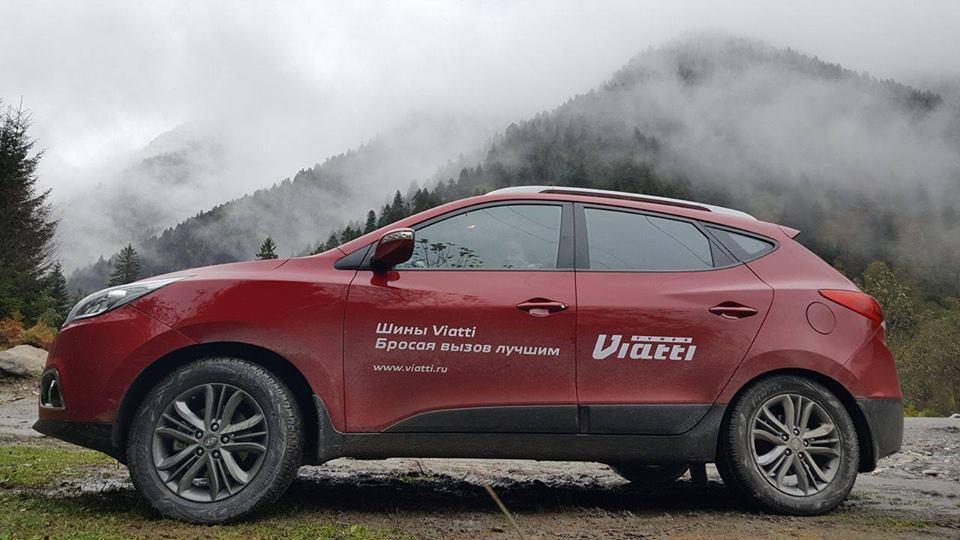 В Грузии успешно продолжается экспедиция Viatti на шинах Bosco A/T