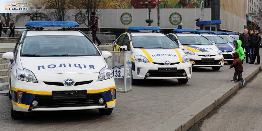 Полиция Украины оснастит свои патрульные автомобили зимними шинами отечественного производства