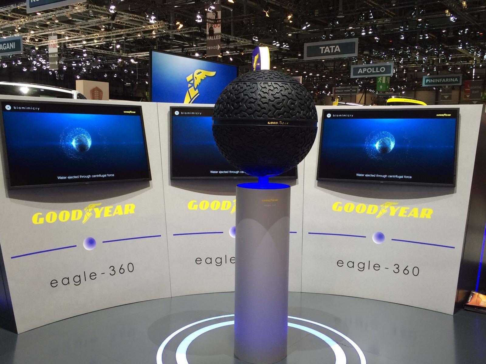 Шины Goodyear Eagle-360 признаны одним из лучших изобретений 2016 года