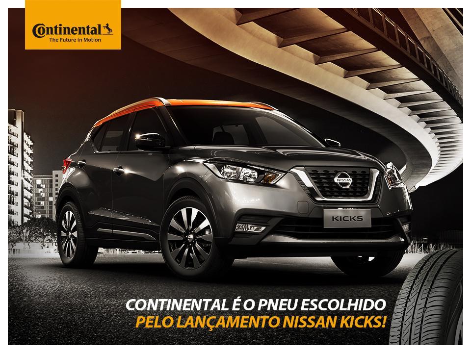 ContiPowerContact омологировали для заводской комплектации Nissan Kicks