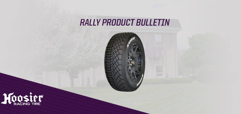 Hoosier Racing Tire представила свои первые раллийные шины