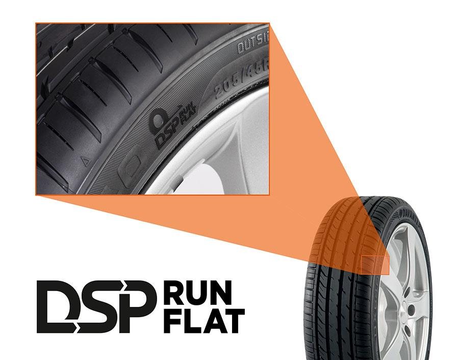 Davanti Tyres представила Run Flat версии моделей DX640 и DX390