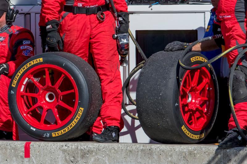 Continental Tire - эксклюзивный поставщик шин в Чемпионат IMSA Prototype Challenge