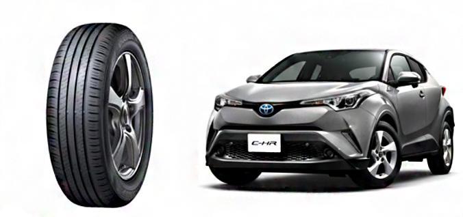 Sumitomo начала поставки шин Dunlop для комплектации кроссоверов Toyota C-HR