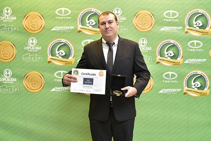 Trelleborg в третий раз подряд получает премию VisaoAgro Awards в Бразилии