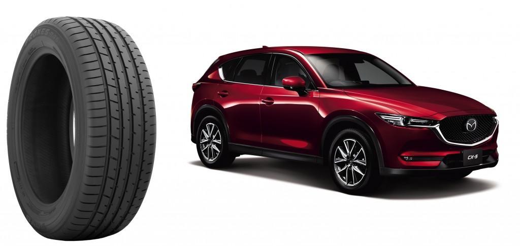 Новые Mazda CX-5 будут продавать с оригинальными шинами Toyo Proxes R46