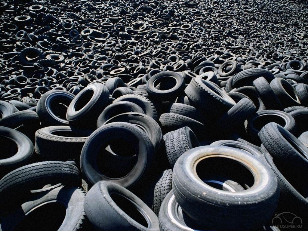 В 2017 году в Подмосковье будет создана система утилизации изношенных шин