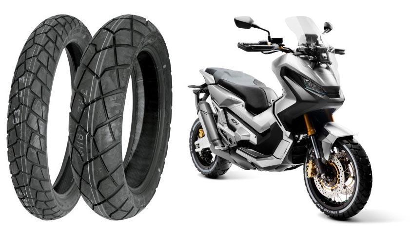 Новый скутер Honda X-ADV 2017 поедет на шинах  Bridgestone