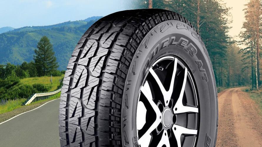 Bridgestone выводит на рынок Европы новые вседорожные всесезонки Dueler A/T 001