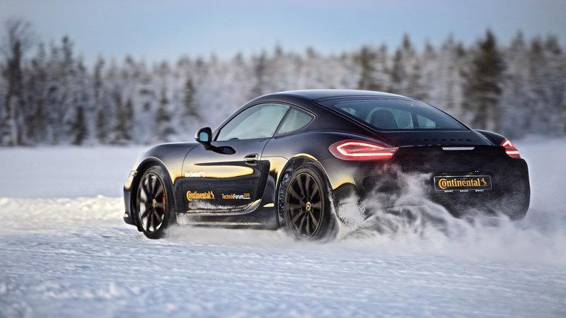 Continental дает советы по безопасному вождению в зимних условиях