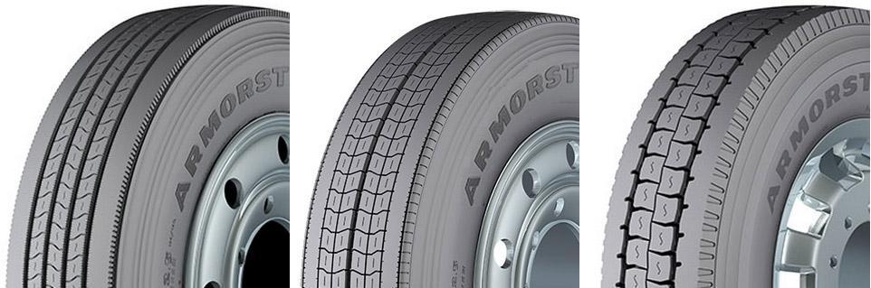 Goodyear запускает новую линейку грузовых шин Kelly Armorsteel