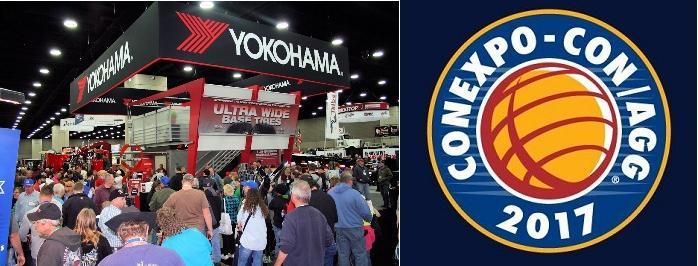 Новая OTR-всесезонка Yokohama MYX S01 дебютирует на ConExpo 2017