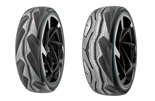 Goodyear разработала уникальные шины CityCube для электрокара Toyota i-Tril
