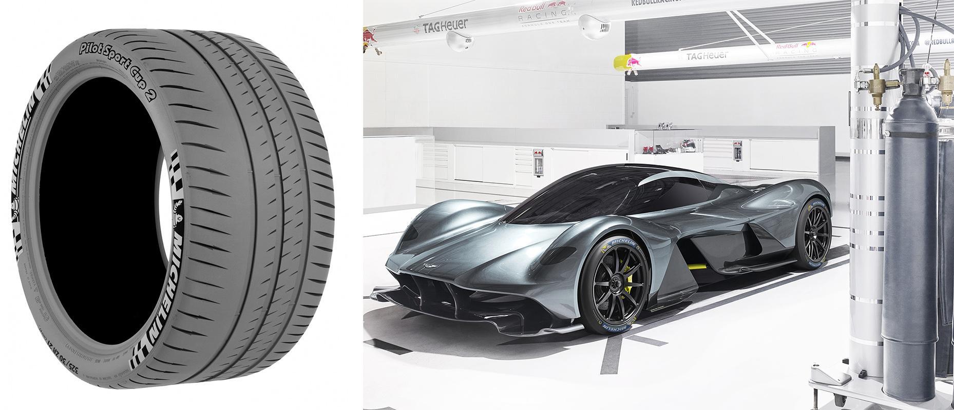 Мишленовцы обуют новый гиперкар Aston Martin Valkyrie