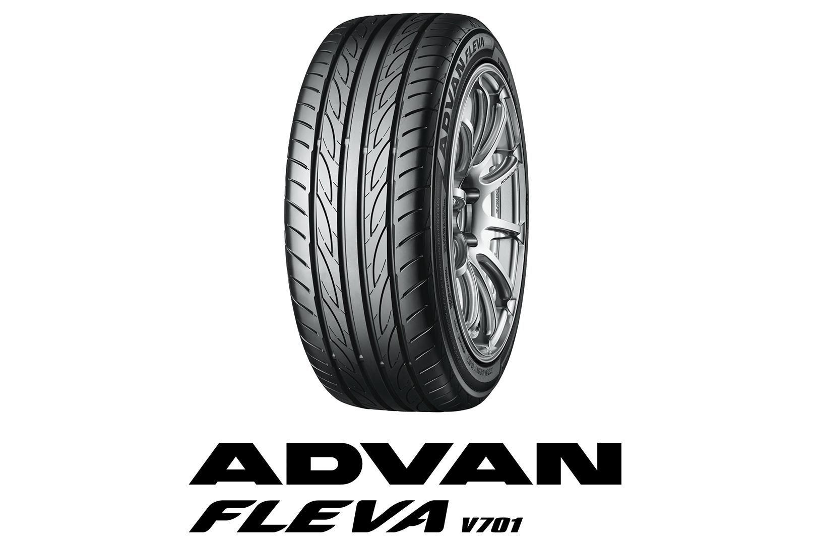 Yokohama добавила в линейку Advan Fleva V701 15 дополнительных типоразмеров
