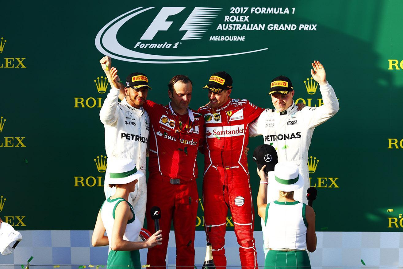 Пирелли подвела итоги первого Гран-при сезона Формулы-1