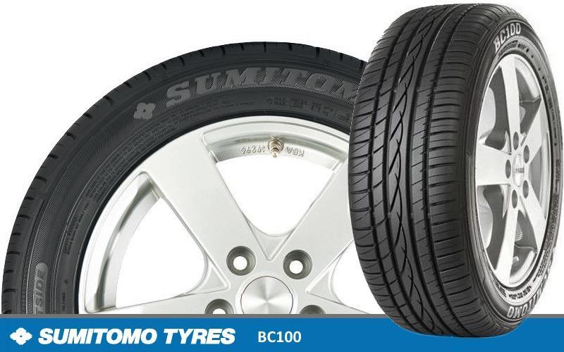 Sumitomo выводит на рынок Европы летние шины BC100