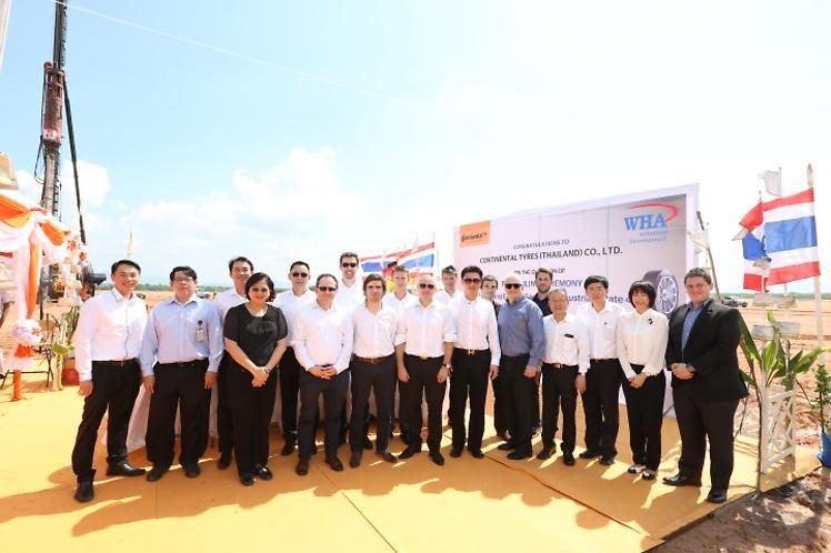 Continental начал строительство нового шинного завода в Таиланде
