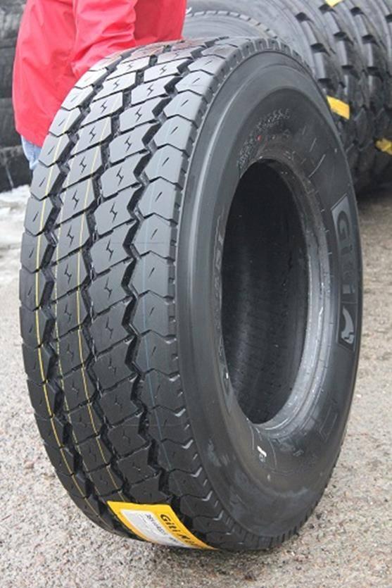 Giti Tire запускает на европейском рынке новые прицепные шины Giti GAM851