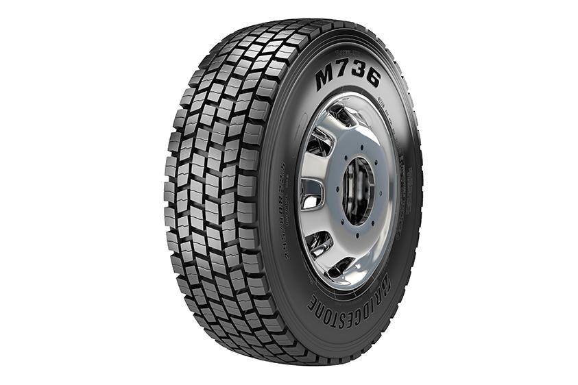 Bridgestone Brazil представила новую грузовую шину M736