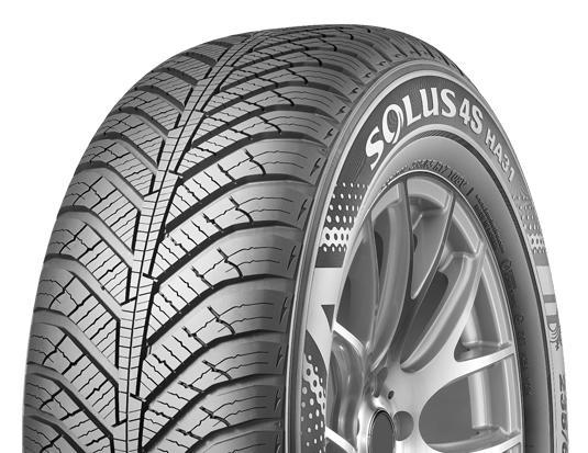 Kumho Tire Canada анонсировала запуск новых всесезонок Solus HA31 SUV