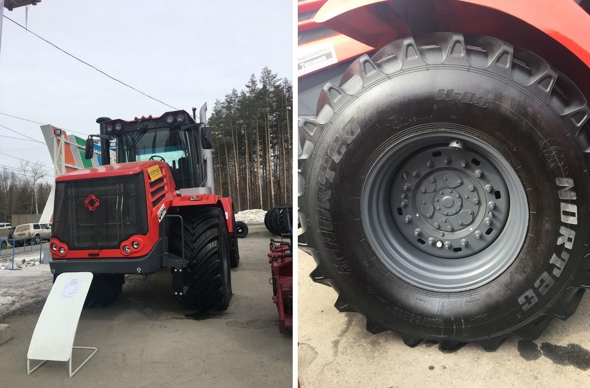 Барнаульские шинники обули 25 процентов сельхозтехники на выставке в Уфе