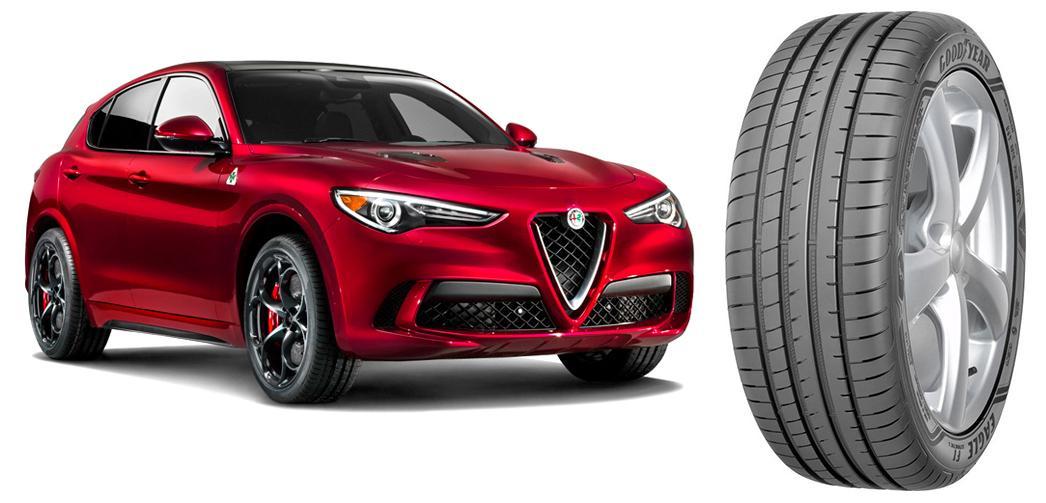 Goodyear Eagle F1 Asymmetric 3 SUV позволят оценить возможности Alfa Romeo Stelvio