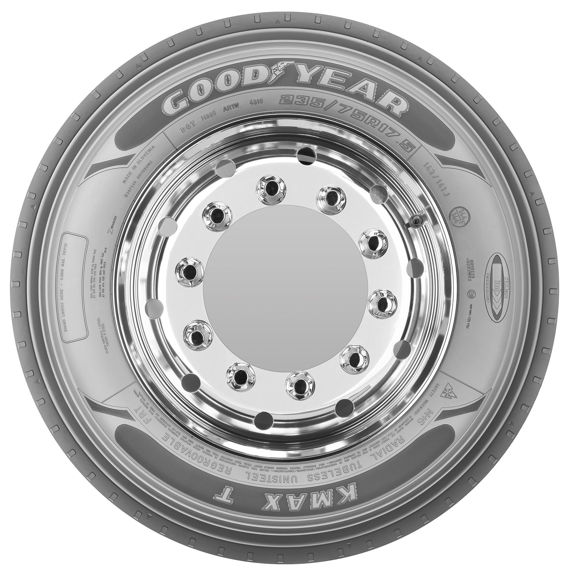 Goodyear разработала 17,5-дюймовые шины KMAX T для трейлеров с низкой рамой