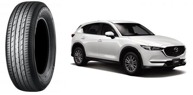 Mazda Motor выбрала для новых кроссоверов CX-5 шины линейки Geolandar