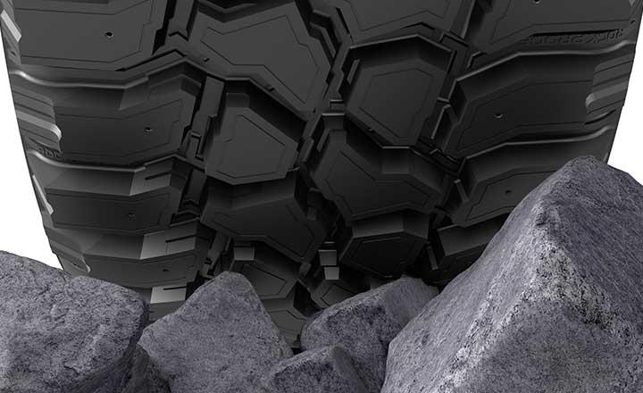 Nokian Tyres представляет гибридную резиновую смесь Nokian Rockproof Hybrid