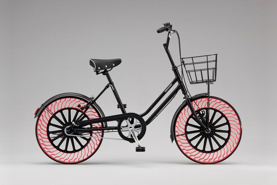 Bridgestone анонсировала безвоздушные шины для велосипедов